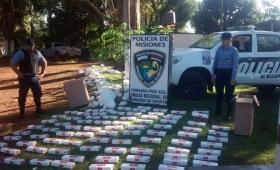 Secuestraron cigarrillos de contrabando en Pozo Azul