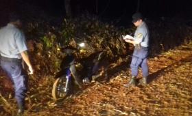 Robó una moto y fue arrestado cuando huía