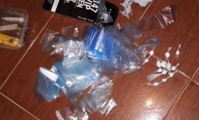 Secuestraron cocaína en un kiosco narco en la chacra 32-33