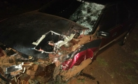 Un muerto en accidente vial en Garuhapé