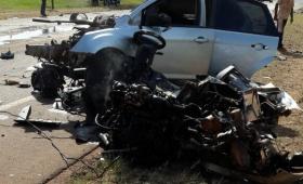 Choque fatal en Ruta 1: murió una mujer de 27 años