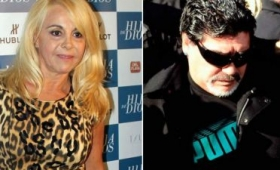 Claudia Villafañe demanda a Diego Maradona