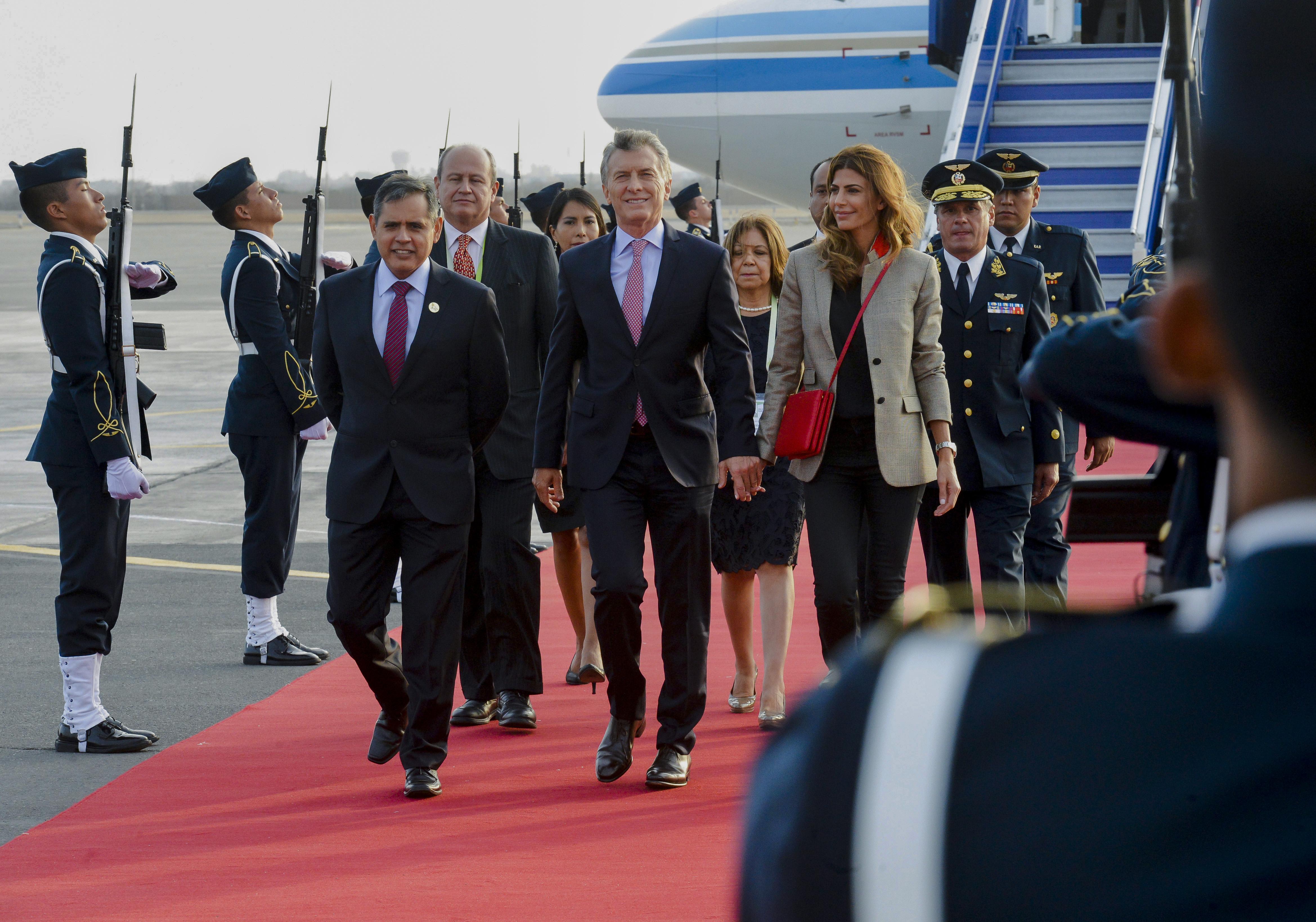 Cómo será la agenda de reuniones bilaterales de Macri en Lima