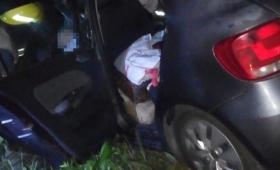 Murió un conductor en choque frontal sobre ruta 12