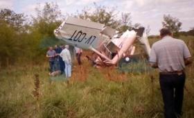 Dos personas resultaron heridas al caer una avioneta