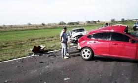 Familia misionera se accidentó en Corrientes