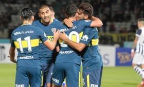 Boca derrotó a Talleres en un amistoso en Córdoba