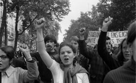 La fuerza del movimiento feminista en Francia