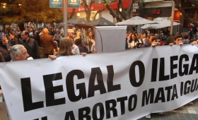 Nueva marcha contra la legalización del aborto
