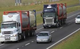 Rige la restricción para circular camiones en autopistas y rutas
