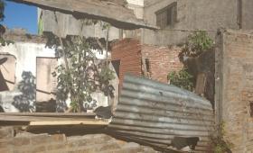 Propiedad abandonada en Barrio Tajamar