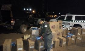 Incautan 34 cajas de cigarrillos en San Ignacio