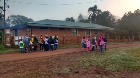 Padres y alumnos de la Escuela 156 volverían a la ruta