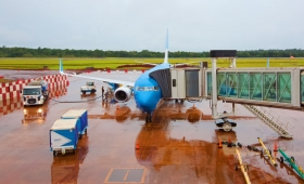 Ya se encuentra operativo el aeropuerto de Iguazú