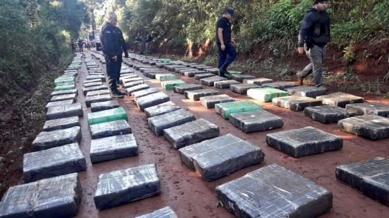 Marihuana en Misiones: 10.500 kilos secuestrados en lo que va del año