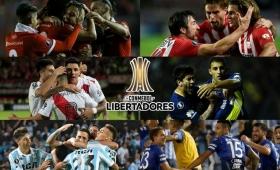 Histórica Copa Libertadores para los clubes argentinos
