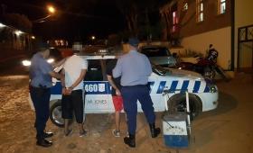 «Polaco» y su cómplice detenidos por robo
