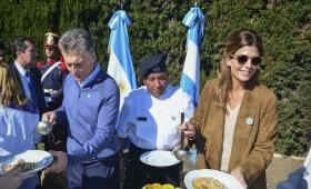 """Macri instó a los argentinos a """"ponerse de acuerdo"""" para """"derrotar la pobreza"""""""