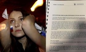 """INADI intervendría por el escandaloso """"manual para conquistar chicas"""" de la AFA"""