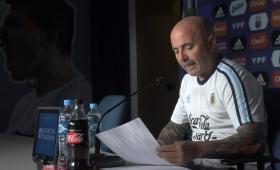 Sampaoli dio la lista de los 23 futbolistas que irán a Rusia