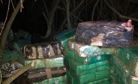 Incautaron más de 2.300 kilos de marihuana en Esperanza
