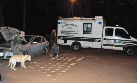 Incautaron casi 30 kilos de cocaína en San Ignacio