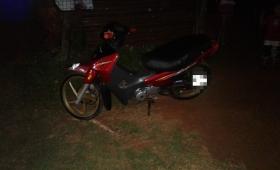 Secuestraron una moto con documentaciones truchas