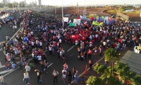 """Misiones se sumó a la """"Marcha por Pan y Trabajo"""""""