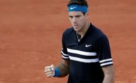 Roland Garros: Del Potro le ganó a Mahut
