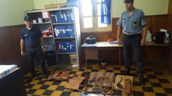 Devolvieron lo robado por sus hijos en Concepción de la Sierra