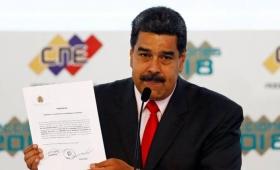 Proclaman a Maduro como presidente hasta 2025