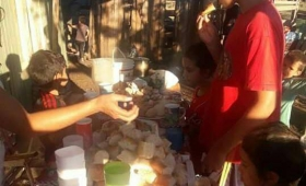 Piden asistencia para merendero en Las Tacuaritas