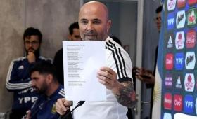 """La lista de Sampaoli: """"Hubo algunas sorpresas"""""""