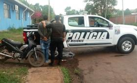 Posadas: secuestraron una moto sin papeles