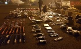 Secuestran cargamento ilegal de repuestos para motos por $400 mil