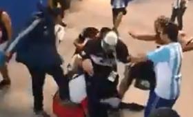 Deportarán a hinchas argentinos que golpearon a croatas