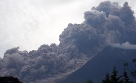Nueva amenaza volcánica en Guatemala