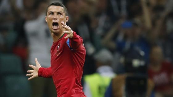 Ronaldo, cuarto jugador en anotar en cuatro mundiales