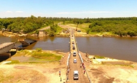 Comienza la construcción del puente del arroyo Guazú