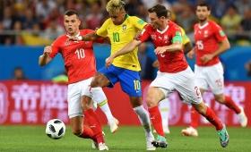 Sin brillo: Brasil igualó con Suiza 1-1