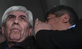 """Moyano calificó de """"disparate"""" el pedido de detención de su hijo Pablo"""