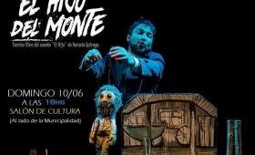 """""""El Hijo Del Monte"""" una obra inspirada en un cuento de Quiroga"""