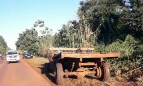 Andresito: joven murió tras chocar contra un tractor en ruta 19