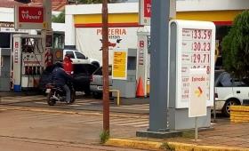 Aumentaron los combustibles en todo el país
