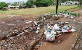 Basural en la Chacra 190: Vecinos reclaman limpieza