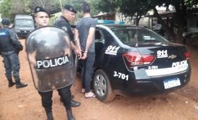 Dos detenidos tras la trifulca en el Barrio Yohasá