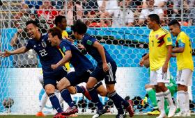 Japón dio la sorpresa y derrotó a Colombia