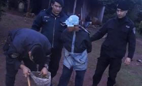 Ladrón intentó asaltar en un comercio y terminó detenido en persecución