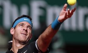 Roland Garros: Del Potro alcanzó los cuartos de final