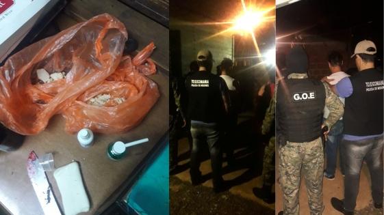 Desbaratan kioscos de cocaína en Posadas